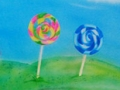 Candy Lollipop Backdrop