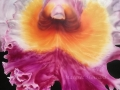 Close-up of Inner Beauty Orchid Painting
