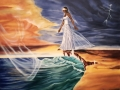 Walking in Faith Painting